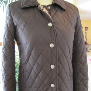 Coach Quilted Light Weight Womens Jacket Sz XS